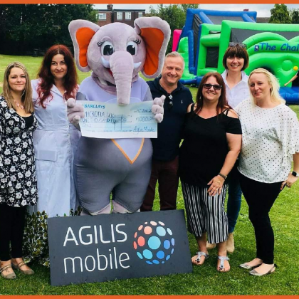 AGILIS Mobile have agreed to sponsor our Microtia UK adult vests and our new children's fundraising t-shirts. Your little ones can fundraise alongside of you with a free Microtia UK t-shirt